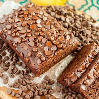 Chocolate Banana Bread with Sea Salt