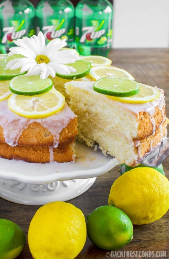One Bowl Lemon Cake From Scratch Recipe