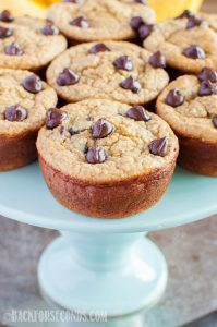 Healthy Banana Blender Muffins