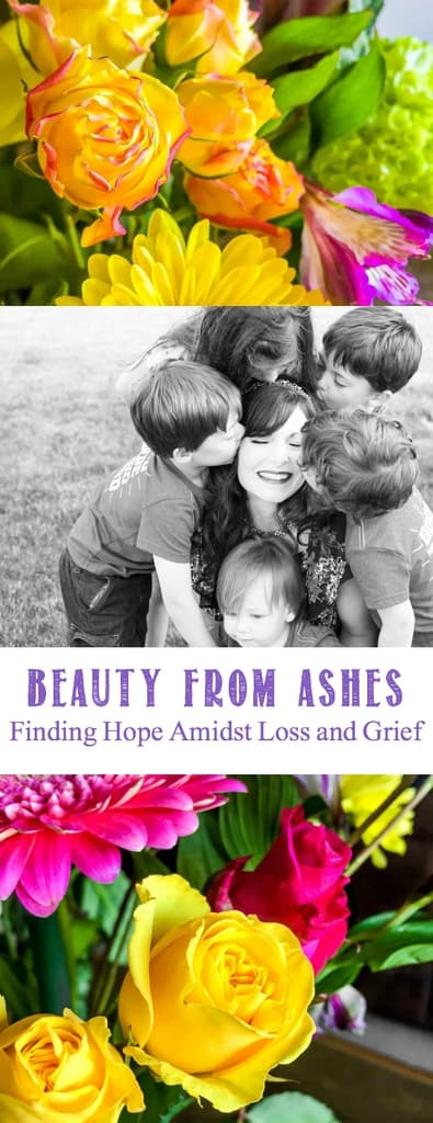 Beauty from Ashes - Hope through Infertility, pregnancy, miscarriage and grief