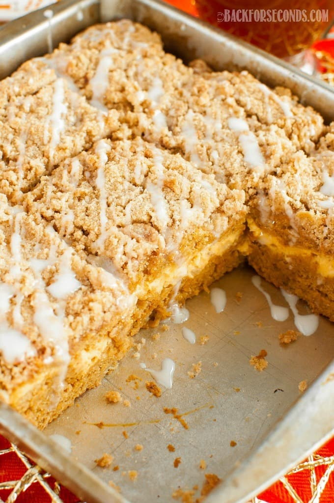 Pumpkin Cheesecake Coffee Cake