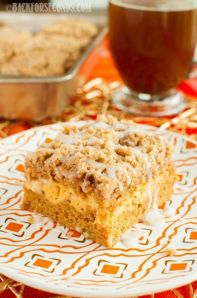 recipe: pumpkin cream cheese coffee cake [5]