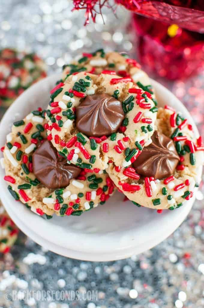 chewy christmas sprinkle cookies are so fun and festive with or without a - Christmas Sprinkles