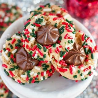 Christmas Sprinkle Cookies
