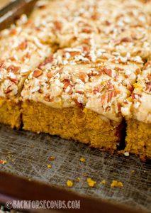 Easy Pumpkin Praline Cake From Scratch