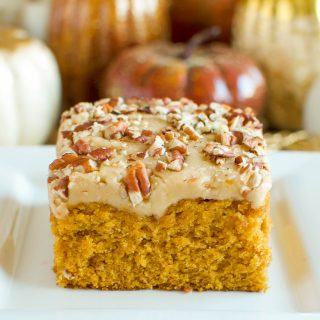 Easy Pumpkin Praline Cake From Scratch