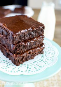 Old Fashioned Lunch Lady Brownies Recipe