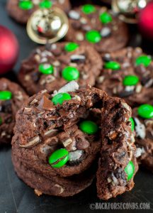 Cookies and Cream Brownie Cookies