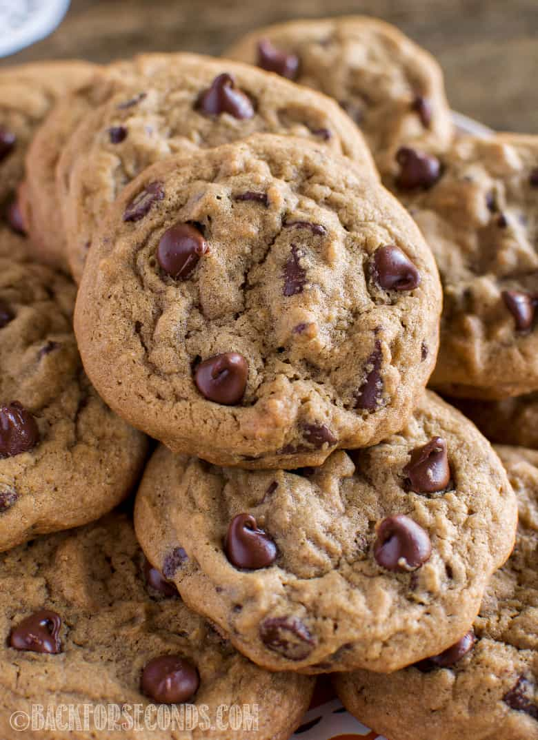 Coffee Chocolate Chip Cookies Back For Seconds